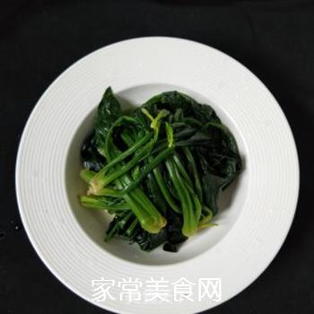 凉拌菠菜的做法步骤:4