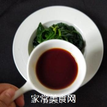 凉拌菠菜的做法步骤:5