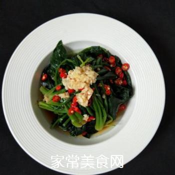 凉拌菠菜的做法步骤:6