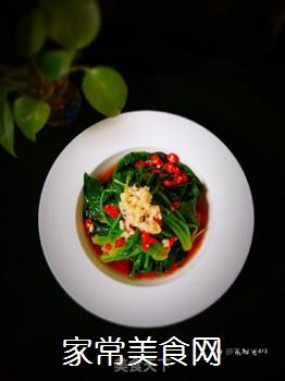 凉拌菠菜的做法步骤:8