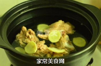 苦瓜黄豆猪骨汤的做法步骤:5