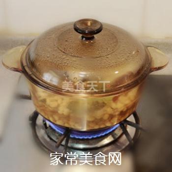 夏日清新美食-----卤煮黄豆的做法步骤:4
