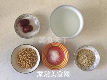 荞麦红枣豆浆的做法步骤:1