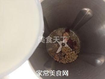 荞麦红枣豆浆的做法步骤:4