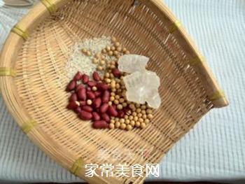 浓黄豆花生豆浆的做法步骤:1