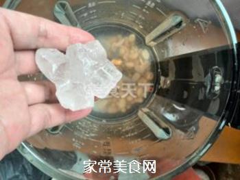 浓黄豆花生豆浆的做法步骤:3