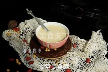 浓黄豆花生豆浆的做法步骤:6