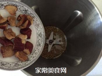 红枣香橙豆浆的做法步骤:3
