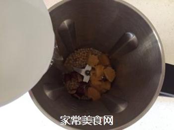 红枣香橙豆浆的做法步骤:5