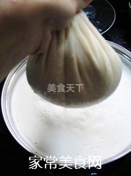 放心豆腐自己做----自制豆腐的做法步骤:6