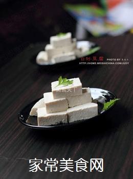 放心豆腐自己做----自制豆腐的做法
