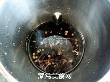 强身健体豆浆---双黑米豆浆的做法步骤:5