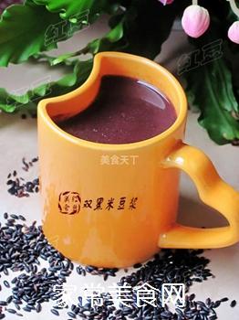 强身健体豆浆---双黑米豆浆的做法