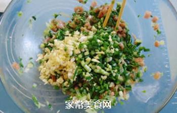白菜盒子的做法步骤:5