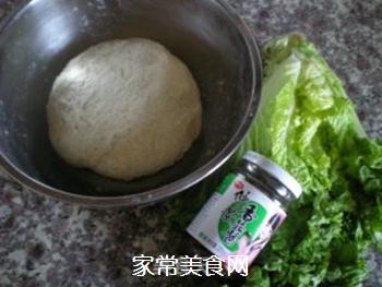 香菇酱卷春饼的做法步骤:1
