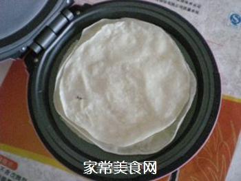 香菇酱卷春饼的做法步骤:4
