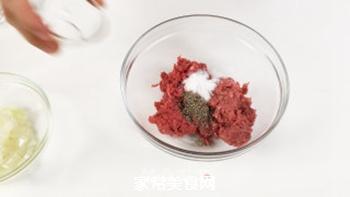 #信任之美#轻松熊日式汉堡的做法步骤:3