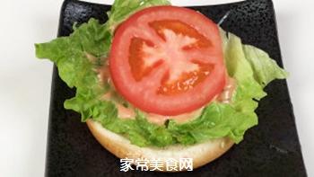 #信任之美#轻松熊日式汉堡的做法步骤:14