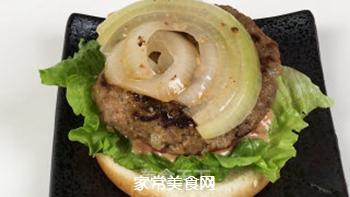 #信任之美#轻松熊日式汉堡的做法步骤:16