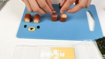 #信任之美#轻松熊日式汉堡的做法步骤:20