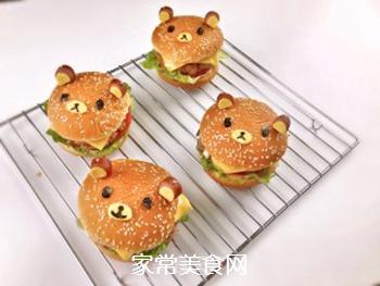 #信任之美#轻松熊日式汉堡的做法步骤:24