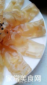 砂锅水晶猪皮冻的做法步骤:13