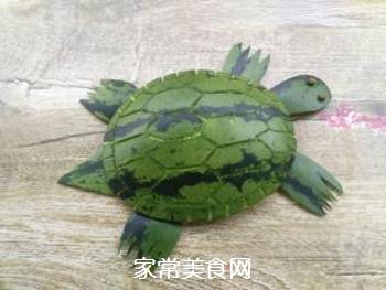 西瓜皮小乌龟的做法步骤:9