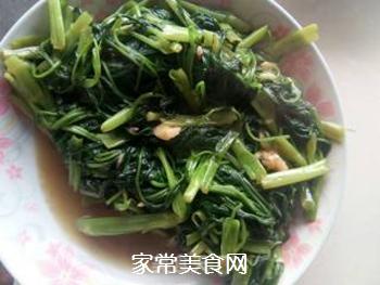 炒空心菜的做法步骤:4
