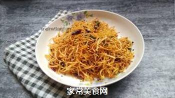 香酥土豆丝的做法步骤:14