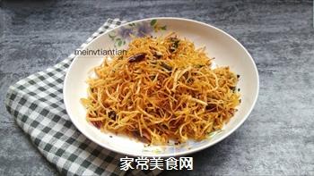 香酥土豆丝的做法