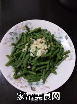 爽口拌豇豆的做法步骤:5