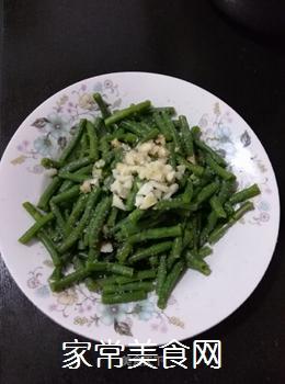 爽口拌豇豆的做法