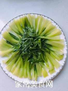 香菇油菜的做法步骤:5