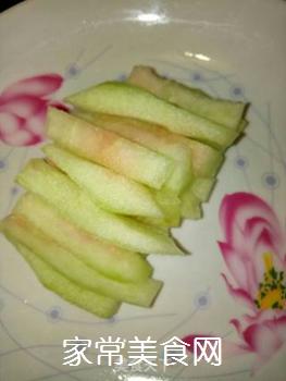 糖醋西瓜皮的做法步骤:4