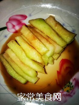 糖醋西瓜皮的做法步骤:5
