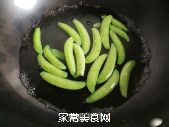 白灼甜豆角的做法步骤:2