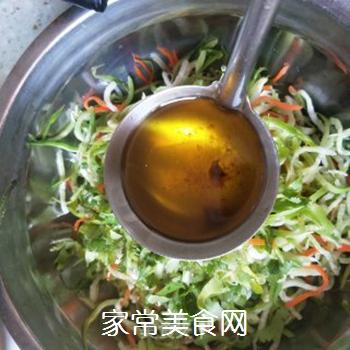 葱油萝卜丝的做法步骤:6