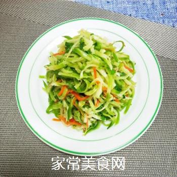葱油萝卜丝的做法步骤:7