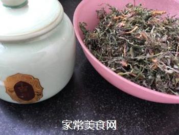 炒苦菜茶的做法步骤:4