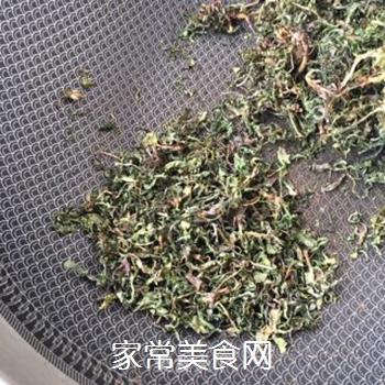 炒苦菜茶的做法步骤:11