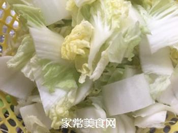 杭白菜炒油面筋的家常做法