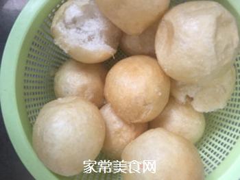 杭白菜炒油面筋的做法步骤:2