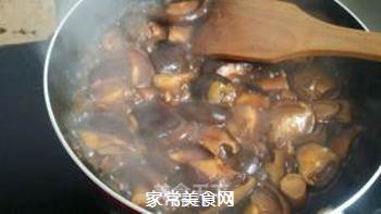 葱油焖香菇的做法步骤:6