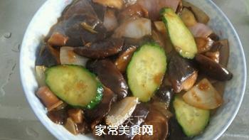 葱油焖香菇的做法