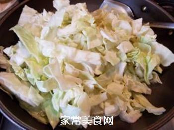 蚝油包心菜的做法步骤:4