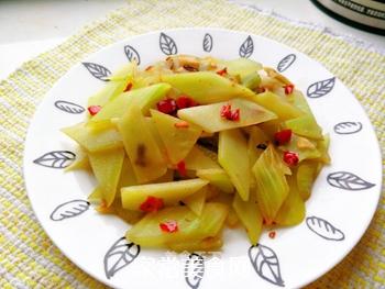 剁椒炒莴笋的做法