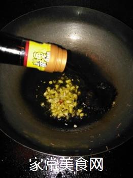 蒜香秋葵的做法步骤:4