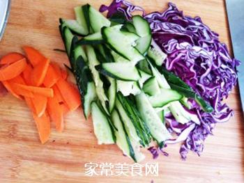 凉拌杂菜的做法步骤:2