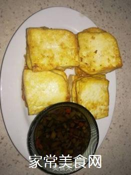 蘸汁豆腐的做法步骤:6