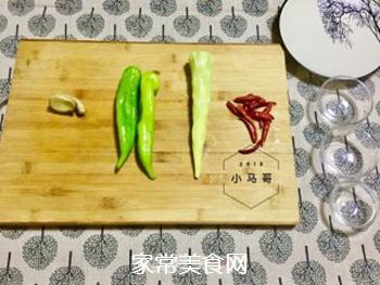 青椒炒笋片#下饭菜的家常做法